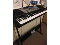 ELECTRIC KEYBOARD WITH STAND + HEADPHONES!