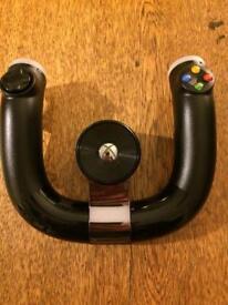 xbox 360 wireless steering wheel