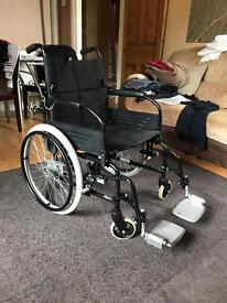 Invacare zipper 2 wheelchair immaculate condition