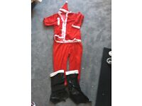 Adult Santa suit used