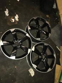 "Rotor 18"" alloys Skoda Audi golf"