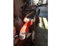 HONDA CRF250 road legal 2004