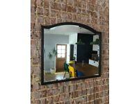 Gorgeous vintage mahogany mirror (67x60cm)