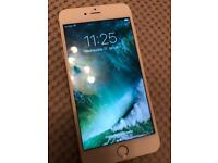 iPhone6 Plus 16gb white and gold unlocked