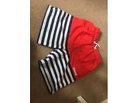 Nearly new swim shorts