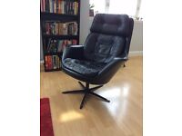 Leather Armchair Swivel