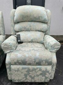 HSL Waltham Riser Recliner Chairs Dual Motor Perfect Working Condition FREE LOCAL DELIVERY