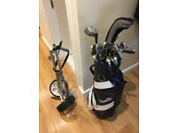 Ben sayers golf clubs and bag