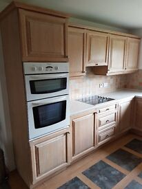 Kitchen complete with Electric Oven and Hob