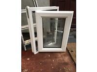 White, upvc, double glazed window