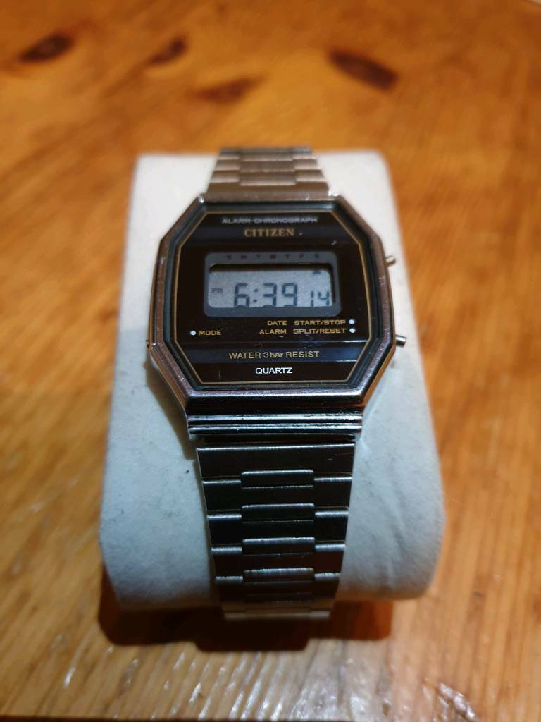 d47d1b8a034e Rare   collectable vintage citizen digital watch