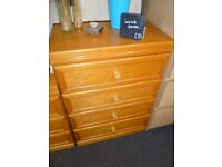 Laminate chest of drawers - Charity