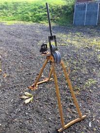 Hilmor conduit and pipe bender 20 & 25mm