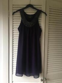 Small / size 8 -10 / purple dress