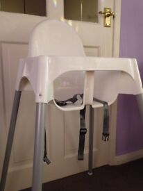 ikea high chair with insert