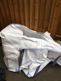 Ton nylon bag - empty - excellent condition