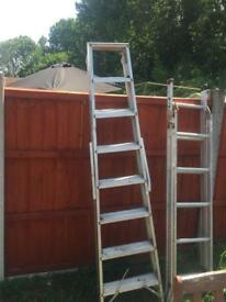 Step ladder and small stair ladder both for £40