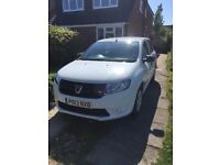 Dacia Sandero 1.2 16v Ambiance 5dr for Sale 1 owner FSH, comes with Towbar and trailer.