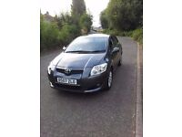 Toyota Auris 1.4 Petrol covered only 43k T3 5 door Bargain £2150