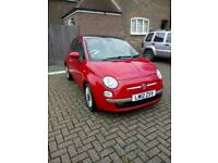 2012reg Fiat 500 875cc twin air lounge full service history excellent condition