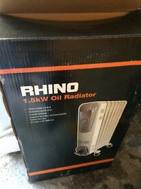 Rhino oil heater