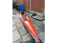 Tyne canoe open cockpit
