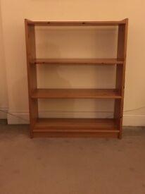 FREE - Pine bookshelf