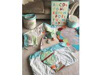 Baby Nursery Bedroom accessories and bedding