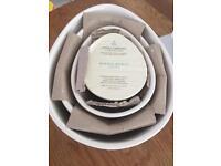 Nigella Lawson Nest of Mixing Bowls. Cream. Brand New in Box