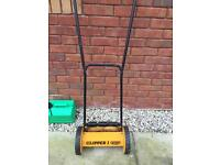 PUSH ALONG LAWNMOWER ADJUSTABLE HEIGHT CUTS GREAT. £15