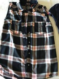 Superdry women's checkered sleeveless shirt