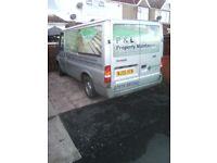 2005 ford transit 2.0 diesel fwd,spares repair,£300