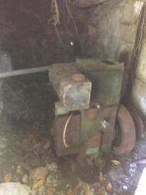 Lister D stationary engine BARN FIND!!