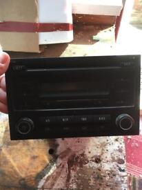 VW radio/cd player taken from Transporter van