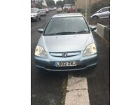 Honda Civic 1,6 SE Auto