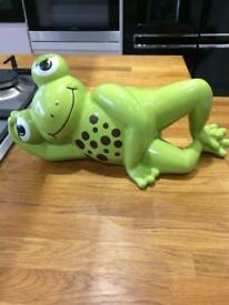 Mud Pie Large ceramic Frog Money box