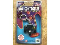 Official 1997 Nintendo N64 controller plastic key chain
