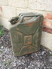 20L Jerrycans for sale just £10 each
