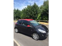 2013 13 PLATE FORD KA ZETEC 1242cc LOW MILEAGE ONLY 40 k FULL MOT CHEAP ROAD TAX ONLY £30 A YEAR