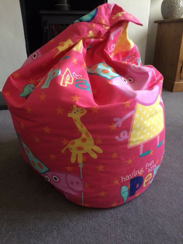 Free Children S Kids Peppa Pig Bean Bag In Leighton Buzzard