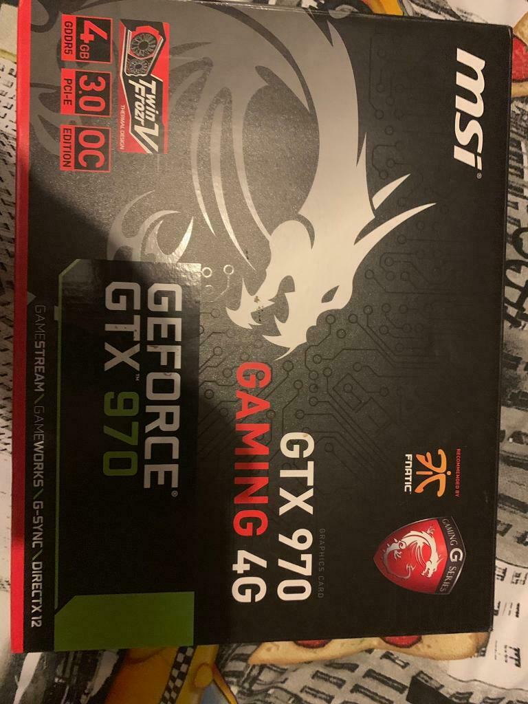 Gtx 970 msi twin frozr gaming 4G | in Peterlee, County Durham | Gumtree