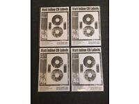 800 CD / DVD Labels Matt Inline Neato style
