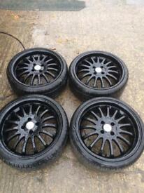 """18"""" alloy wheels team dynamic"""