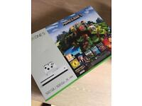 Xbox One S 500GB Minecraft complete Adventure Bundle - LOCAL COLLECTION ONLY