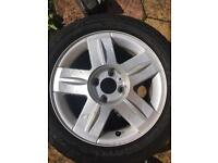 Renault alloys 2006 - set of 4