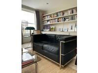 Le Corbusier LC2 Two Seater Sofa