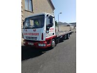 2005 Iveco Eurocargo 75E17 7.5T Tilt & Slide with Spec lift & all equipment £12500 ovno + vat