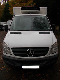 Mercedes sprinter Box Fridge Van (WRR) New Engine £4000 + Vat