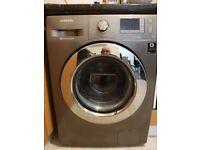 Samsung Washing Machine 8kg Load 1400 Spin Digital display in Grey