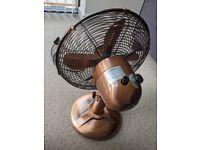 """12"""" copper fan"""